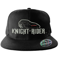 Knight Rider - Zwart Snapback Pet