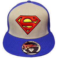 Superman Logo DC Comics Wide Bill Snapback Petje