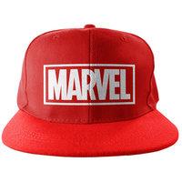 Marvel Logo Snapback Cap