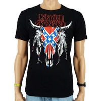 Lynyrd Skynyrd Rock Heren zwart easy-fit T-shirt