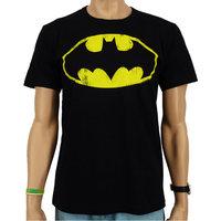 Batman-  Vintage Logo - DC Comics Zwart Heren T-shirt