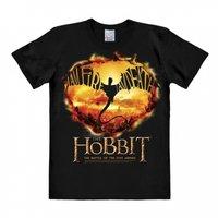 The Hobbit - I Am Fire I Am Death - Zwart Heren easy-fit T-shirt
