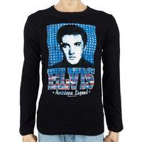 Elvis Presley American Legend Heren zwart Longsleeve shirt