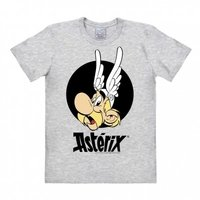 Asterix Portrait Heren grijs easy-fit T-shirt