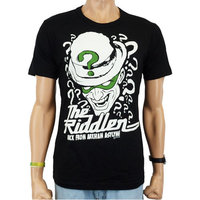 Batman T-shirt The Riddler DC Comics Heren easy-fit zwart