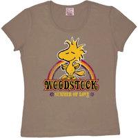Peanuts - Woodstock - Dames Olijf T-shirt