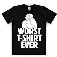 The Simpsons Worst T-Shirt Ever Heren easy-fit T-shirt