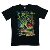 Superman The Last Hope DC Comics Heren Zwart Organic T-shirt