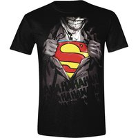 Batman - Joker Vs. Superman - Heren Zwart T-shirt
