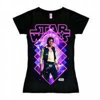 Star Wars San Holo Dames Zwart T-shirt