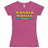 Wonder Woman Logo DC Comics Dames Roze T-shirt