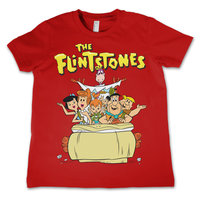 The Flintstones - Family - Rood Kinder T-shirt