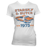 Starsky en Hutch - 1975 - Dames Wit T-shirt