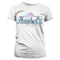 90210 Peach Pit Vintage Dames Wit T-shirt