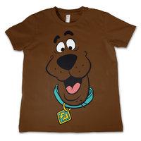 Scooby Doo - Face - Bruin Kinder T-shirt
