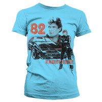 Knight Rider 1982 Dames Blauw T-shirt