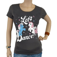 My Little Pony Let's Dance Dames Grijs T-shirt