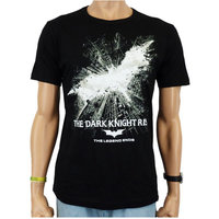 Batman The Dark Knight Rises Heren easy-fit T-shirt zwart