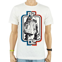 Star Wars R2-D2 Retro Heren easy-fit T-shirt
