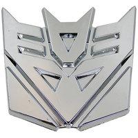 Transformers Decepticons Logo Chroom Riem Buckle/Gesp