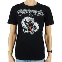 Whitesnake - Zwart Heren easy-fit T-shirt