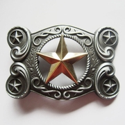 Celtic Keltic Metal Gold Star Riem Gesp/Buckle