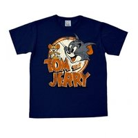 Tom & Jerry - Heren Blauw easy-fit t-shirt