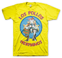 Breaking Bad Los Pollos Hermanos Heren T-shirt geel