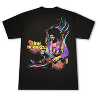 Jimi Hendrix - ACID - Zwart Heren easy-fit T-shirt