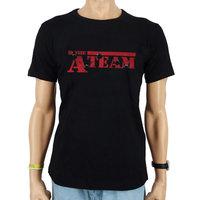A-Team Vintage Heren Zwart T-shirt