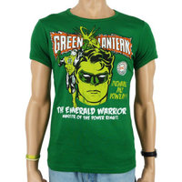 Green Lantern Emerald Warrior DC Comics Heren Zwart slim-fit T-shirt