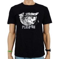 Platoon Helm Heren Vintage Zwart T-shirt