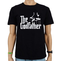 The Godfather Vintage Heren Zwart T-shirt