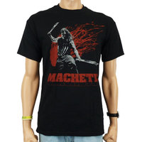 Machete They Just F*cked with the Wrong Mexican! Heren Zwart T-shirt
