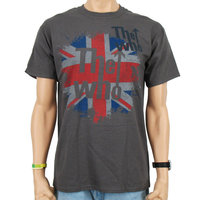 The Who Vintage Heren Grijs easy-fit t-shirt