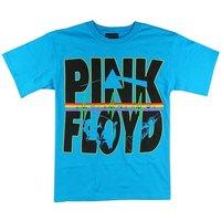 Pink Floyd Logo Heren Blauw T-shirt