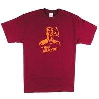 Rocky 4 I Must Break You Ivan Drago Heren Rood T-shirt