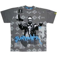 The Punisher - Extreme Sketch - Marvel Grijs Heren T-shirt