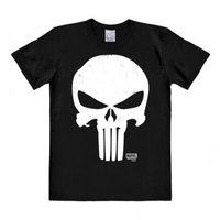 The Punisher - Marvel - DC Comics - Zwart Heren easy-fit T-shirt