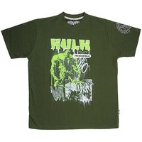 The Hulk Sketch Marvel Heren Groen T-shirt