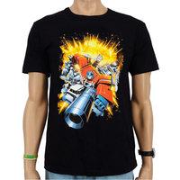 Transformers Exploding Autobots Zwart Heren T-shirt