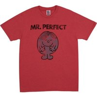 Mr. Perfect Vintage Heren Vintage Rood easy-fit T-shirt