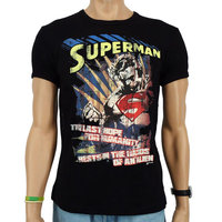 Superman The Last Hope DC Comics Heren Zwart slim-fit T-shirt
