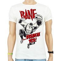 Batman - Bane Breakin You - Wit Heren slim-fit T-shirt