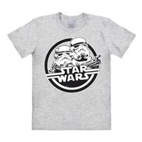 Star Wars Stormtrooper Heren Grijs easy-fit T-shirt