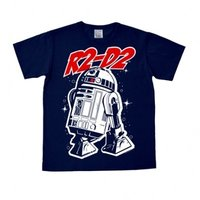 Star Wars R2-D2 Retro Heren Blauw easy-fit T-shirt