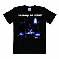 Star Wars The Saga Continues Heren easy-fit Zwart T-shirt