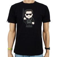 Toonstar Terminator Machine Heren Zwart T-shirt