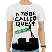 Hip Hop A Tribe Called Quest Linden Blvd Heren Wit T-shirt