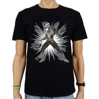 Venom - Marvel - Heren Zwart met Glitter easy-fit T-shirt
